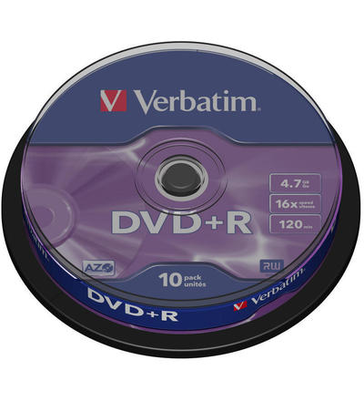 VERBATIM DVD-R 4,7GB 16X SPINDLE