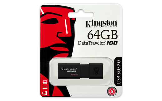 KINGSTON 64GB USB3.0 DataTraveler 100 G3
