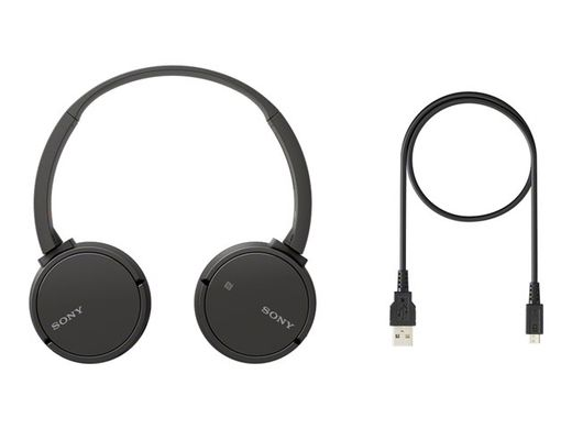 SONY Entry BT headset 20H battery Black, myyntierä 1 PKT