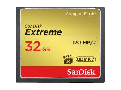SANDISK Extreme CF 120MB/s 32 GB