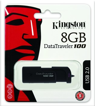 USB Muisti 8 GB DataTraveller 2.0, Kingston