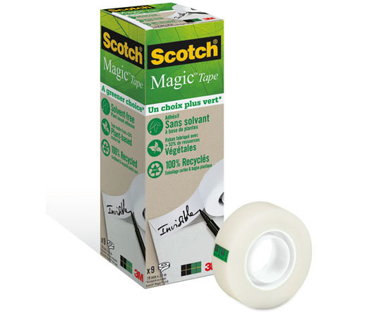 SCOTCH MAGIC 900 19MMX33MM TEIPPI EKOMAX, myyntierä 1 RLL