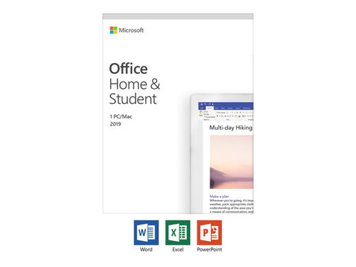 MS Office Home and Student 2019, myyntierä 1 KPL