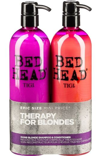 Tigi Bed Head 2x750ml Dump Blonde, myyntierä 1 kpl
