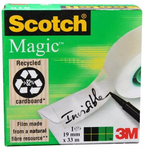 SCOTCH MAGIC 810 19MMX33M ASIAKIRJA TEIPPI, myyntierä 1 RLL